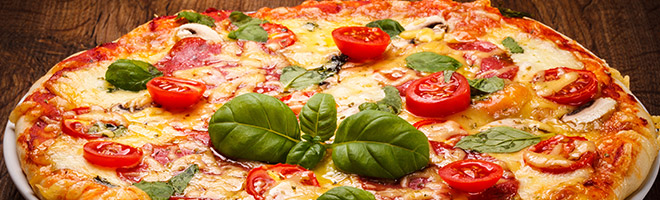 | Pizza vegetarisch
